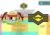 Jadual Peperiksaan STPM 2019 Sijil Tinggi Persekolahan Malaysia