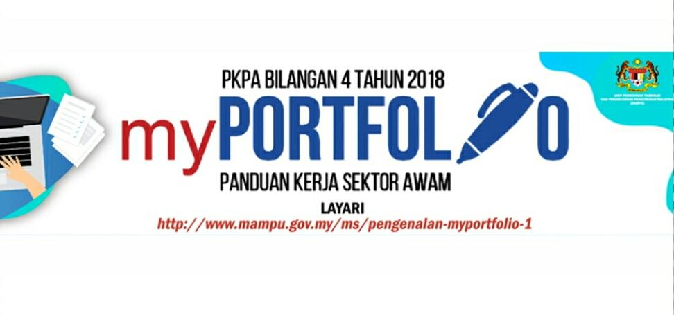 Panduan Penyediaan MyPortfolio Bagi Pendidikan (Contoh Templat)