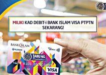 Permohonan Kad Debit-i Bank Islam Visa PTPTN