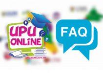 Soalan Lazim Permohonan UPU (FAQ)
