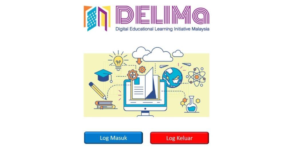 Cara Akses Dan Log Masuk DELIMa KPM Digital Learning